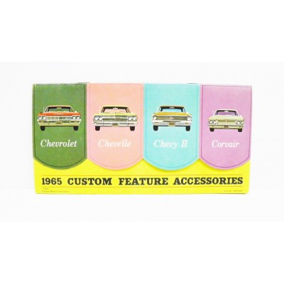 USED 1965 CUSTOM FEATURES BOOKLET