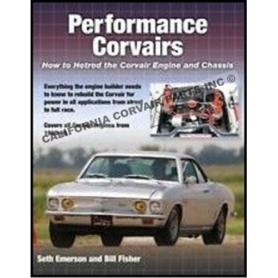 PERFORMANCE CORVAIRS BOOK