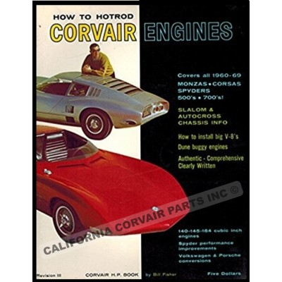 USED HOT ROD CORVAIR ENGINES BOOK