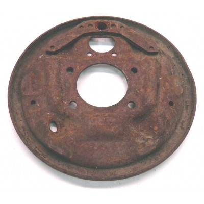 USED 1963-64 LH REAR BACKING PLATE