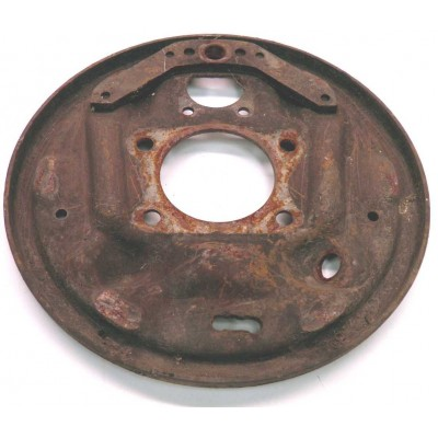 USED 1963-64 RH REAR BACKING PLATE