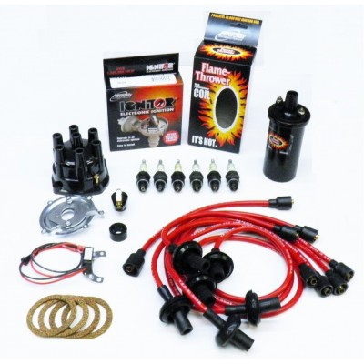 NEW IGNITOR RED TUNE UP KIT - BLACK COIL