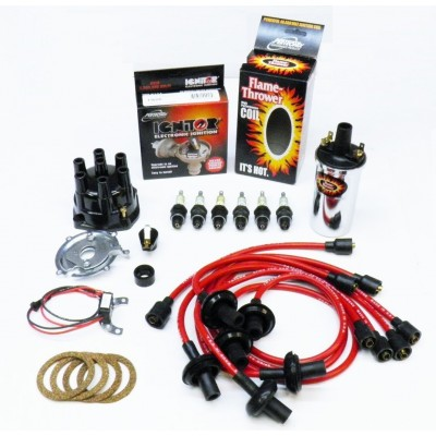 NEW IGNITOR RED TUNE UP KIT - CHROME COIL