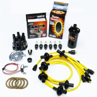 NEW IGNITOR YELLOW TUNE UP KIT - BLACK COIL