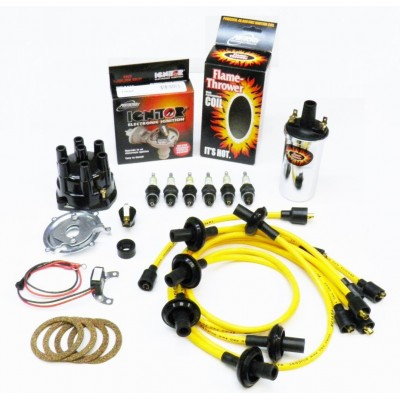 NEW IGNITOR YELLOW TUNE UP KIT - CHROME COIL