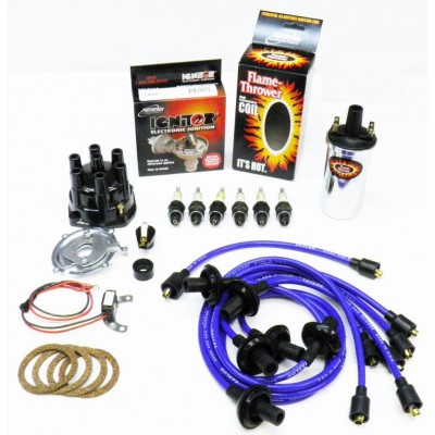NEW IGNITOR BLUE TUNE UP KIT - CHROME COIL
