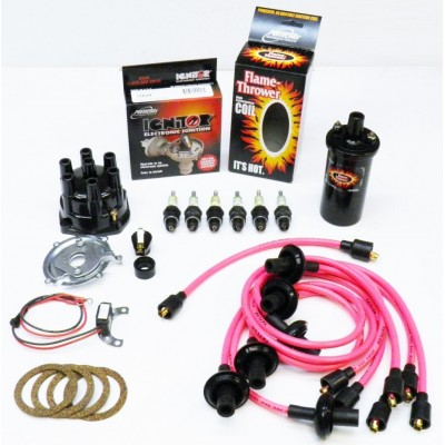 NEW IGNITOR PINK TUNE UP KIT - BLACK COIL