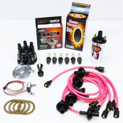 NEW IGNITOR PINK TUNE UP KIT - CHROME COIL