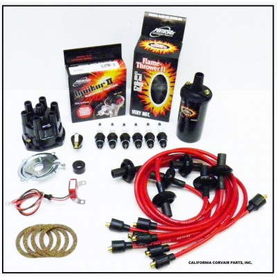 NEW IGNITOR 2 RED TUNE UP KIT - BLACK COIL