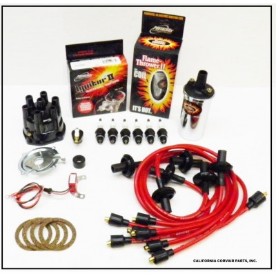 NEW IGNITOR 2 RED TUNE UP KIT - CHROME COIL