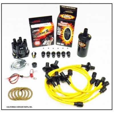 NEW IGNITOR 2 YELLOW TUNE UP KIT - BLACK COIL