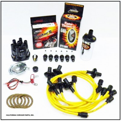 NEW IGNITOR 2 YELLOW TUNE UP KIT - CHROME COIL