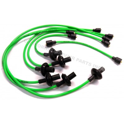 NEW 8MM SPARK PLUG WIRES - GREEN