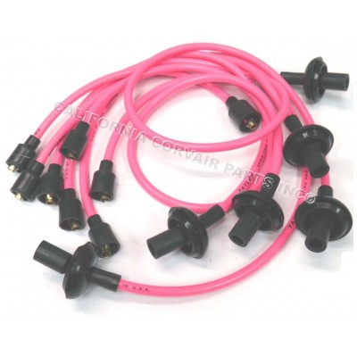 NEW 8MM SPARK PLUG WIRES - PINK