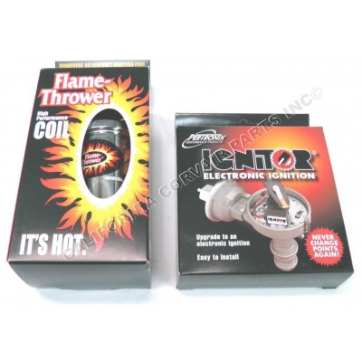 NEW IGNITOR & FLAMETHROWER - CHROME
