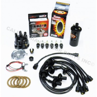 NEW IGNITOR TUNE UP KIT - BLACK COIL