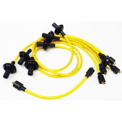 NEW 8MM SPARK PLUG WIRES - YELLOW