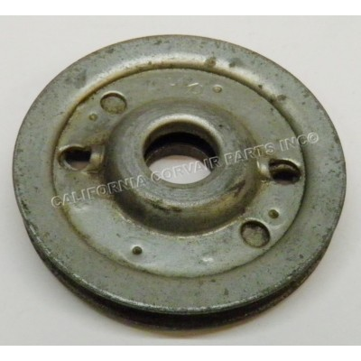 USED BRAKE CABLE METAL PULLEY