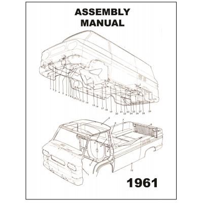 NEW 1961 VAN ASSEMBLY MANUAL