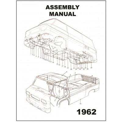 NEW 1962 VAN ASSEMBLY MANUAL