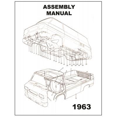NEW 1963 VAN ASSEMBLY MANUAL
