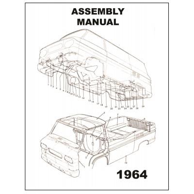 NEW 1964 VAN ASSEMBLY MANUAL