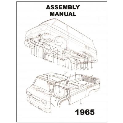 NEW 1965 VAN ASSEMBLY MANUAL