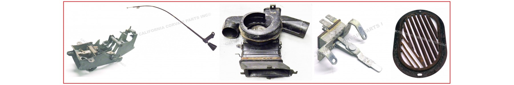 USED HEATER & VENT PARTS