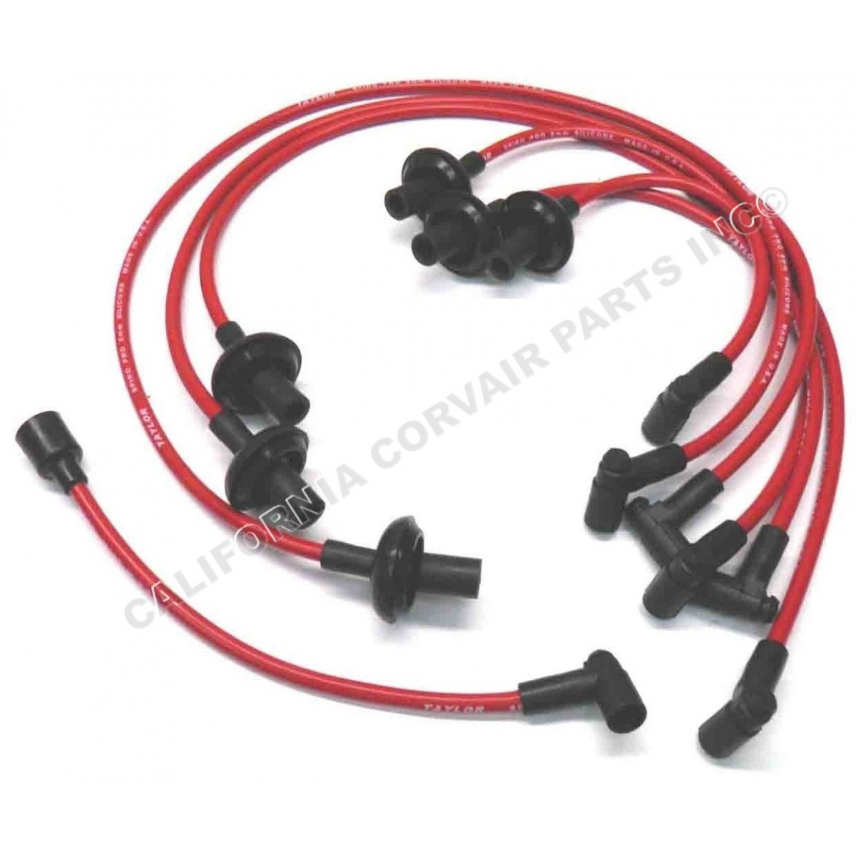 NEW 8MM HEI SPARK PLUG WIRES - RED - California Corvair ... Hei Plug Wires on